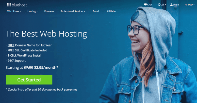 bluehost web hosting reviews