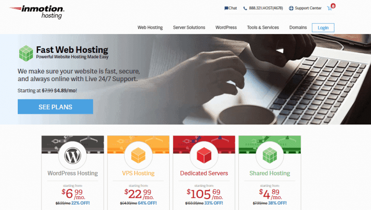 Inmotion web hosting reviews