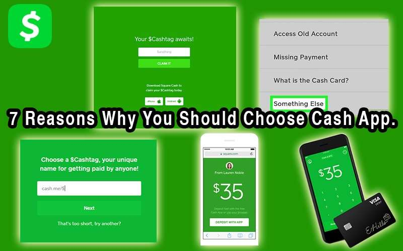 7 reasons why you should choose Cash App