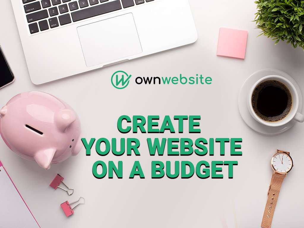 Professional business website on a budget